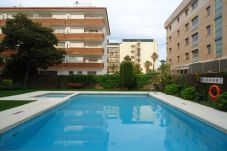 Apartment with swimming pool in Fenals area
