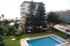 Beach front apartment in Lloret de Mar