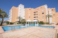 Beach front apartment in Javea