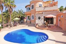 Villa in Moraira at 5 km from the beach